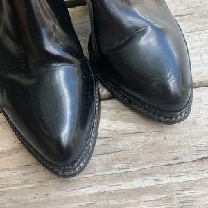 Zara Shoes - Zara All Black Leather Booties